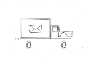 Camion de correos
