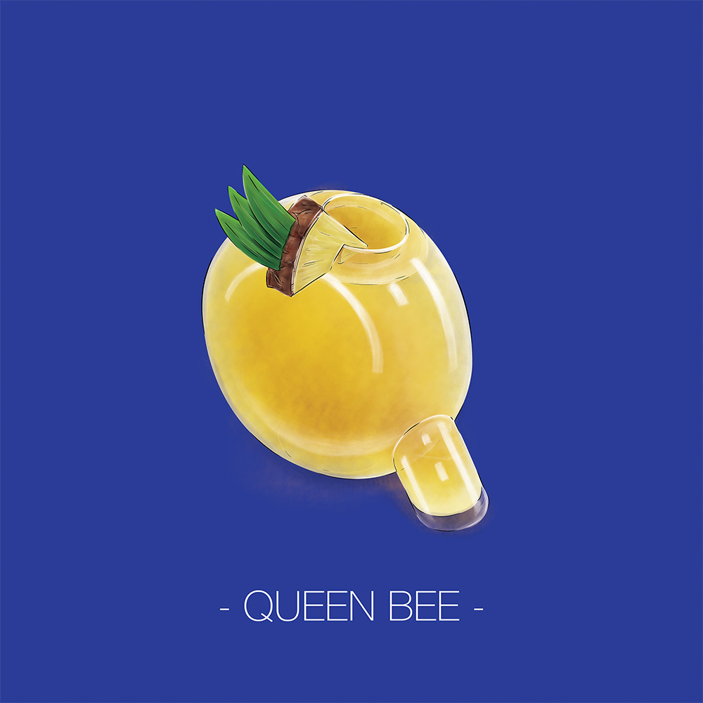 36dayoftyte_2016_q_queen_bee